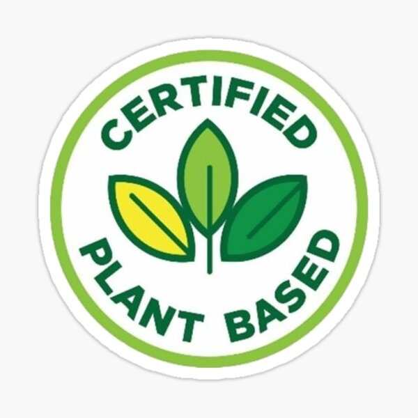 Certified Plant Based Sticker