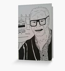 Chicago Cubs Harry Caray Greeting Card