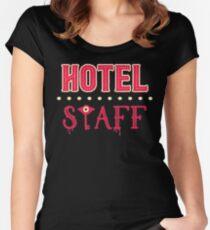 Hazbin Hotel Staff Fitted Scoop T-Shirt
