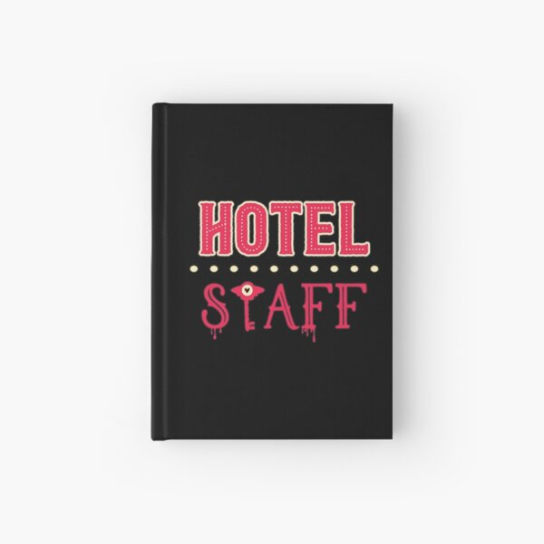 Hazbin Hotel Staff Hardcover Journal