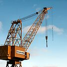 Shipyard Crane by Mark Theriault