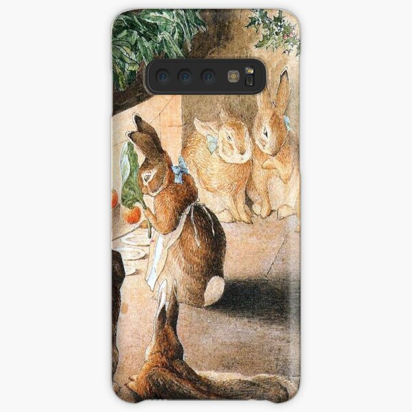 Christmas Rabbit Family Roasting Apples - Beatrix Potter Samsung Galaxy Snap Case