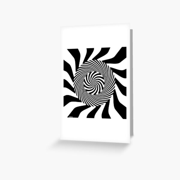 Dark Hypnosis Greeting Card