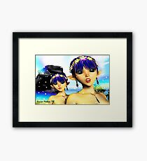 The Elf Sisters Framed Print