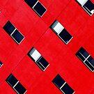 red cubism - park inn hotel sandton johannesburg by leoork
