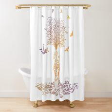 Infinite love now 19 by #Bizzartino Shower Curtain
