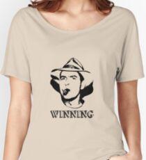 Charlie Sheen Winning Shirt Women's Relaxed Fit T-Shirt