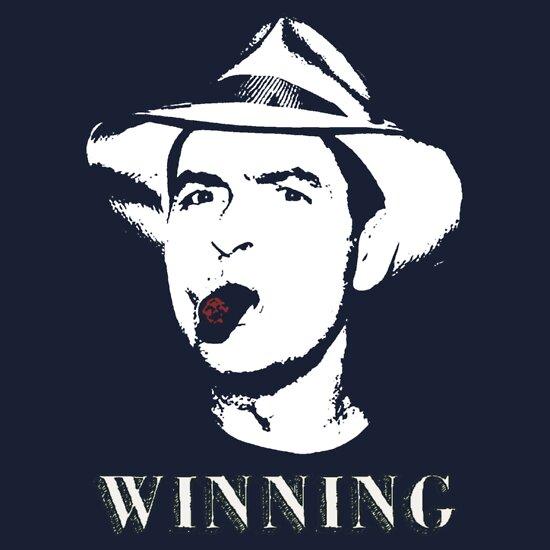TShirtGifter presents: Charlie Sheen Winning Shirt