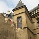 A Door to Nowhere - Musee du Cluny, Paris by Danielle Ducrest
