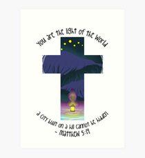 Matthew 5:14 Art Print