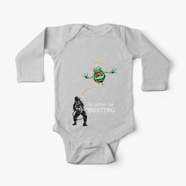 Ghost Busters Logo infant Baby Boy Clothes One PIECE Bodysuit