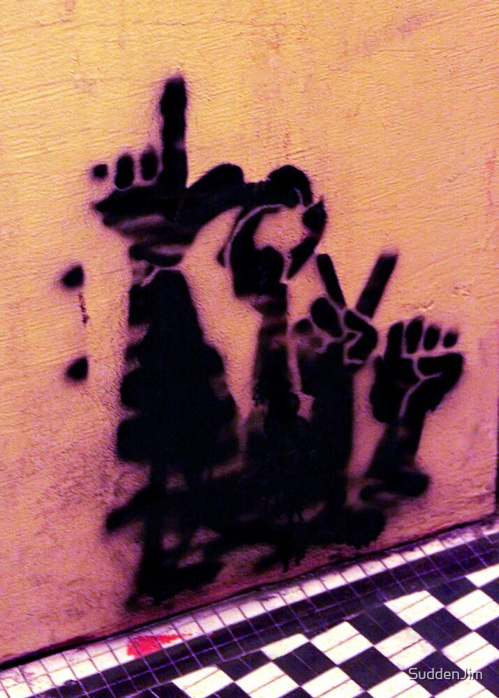 Sign Language by SuddenJim