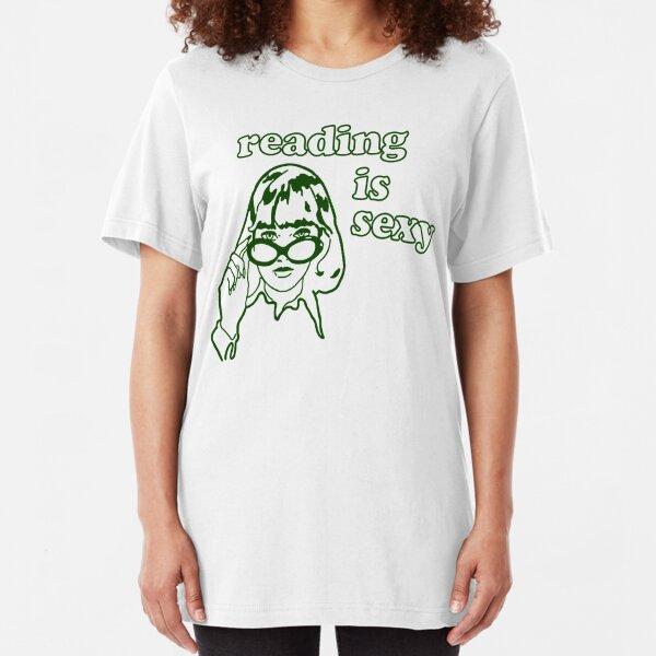 Lesen ist sexy Slim Fit T-Shirt