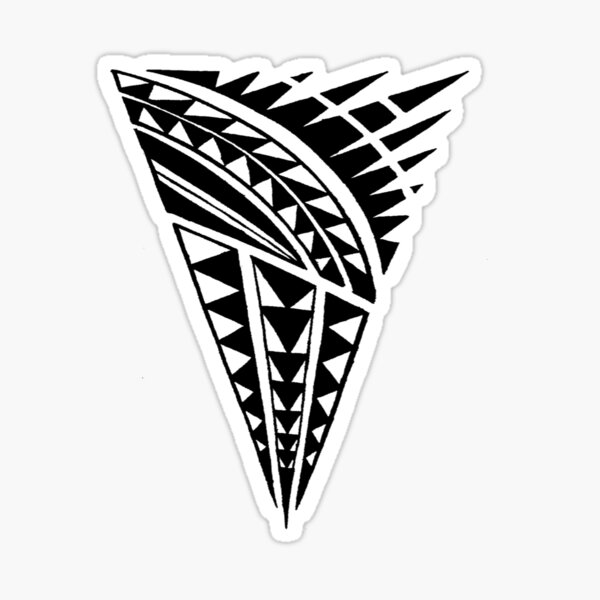 polynesian tribal Sticker