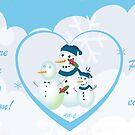 Share love this season Christmas card by sarnia2