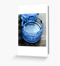 Ashtray Greeting Card