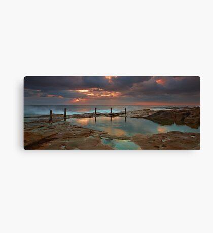 Ivo Rowe Pool - Sunrise Canvas Print
