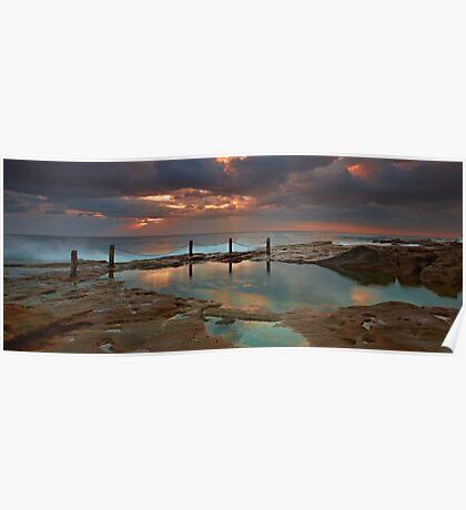 Ivo Rowe Pool - Sunrise Poster
