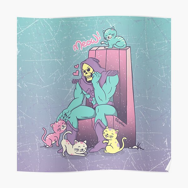 Skelemeow! Poster