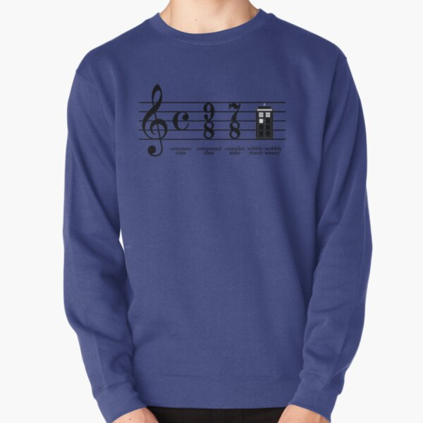 Wibbly-wobbly timey-wimey Sweatshirt épais