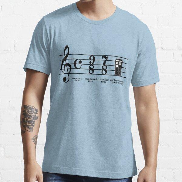 Wibbly-wobbly timey-wimey Essential T-Shirt