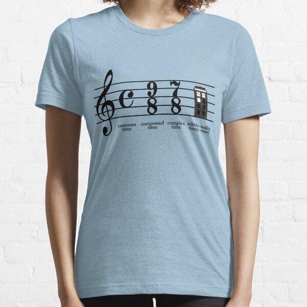 Wobbly-wobbly timey-wimey Essential T-Shirt