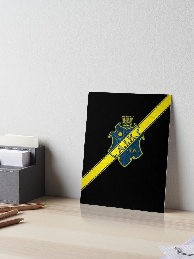 Aik Stockholm Ultras Hooligans Fans Football Sweden Art Board Print By Tombalabomba Redbubble