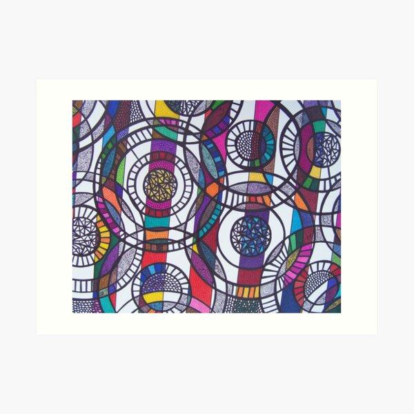 Parallel Dimensions Art Print