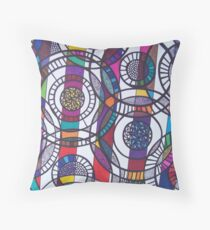 Parallel Dimensions Throw Pillow