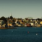 Portsmouth Harbour by Diana Nault