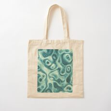 #DeepDream abstraction Cotton Tote Bag