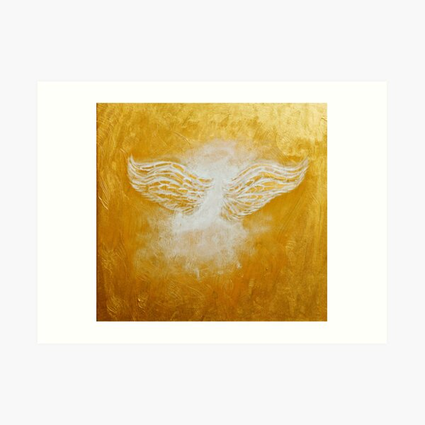 'Gabriel Angelic Messenger' Art Print