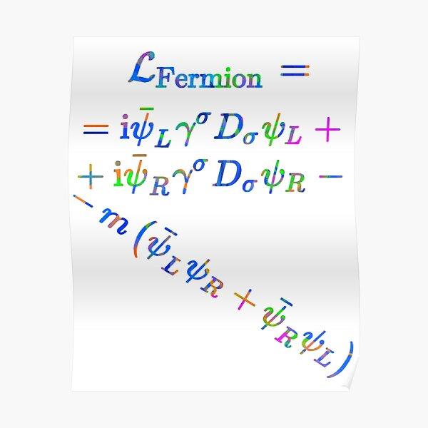Lagrange Fermion Poster