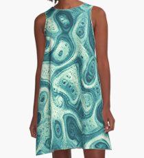 #DeepDream abstraction A-Line Dress