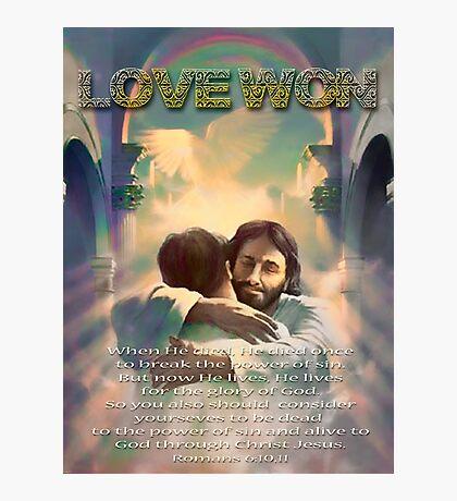 Love Won Photographic Print
