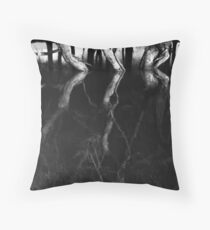 Floods, Mid Wales Throw Pillow