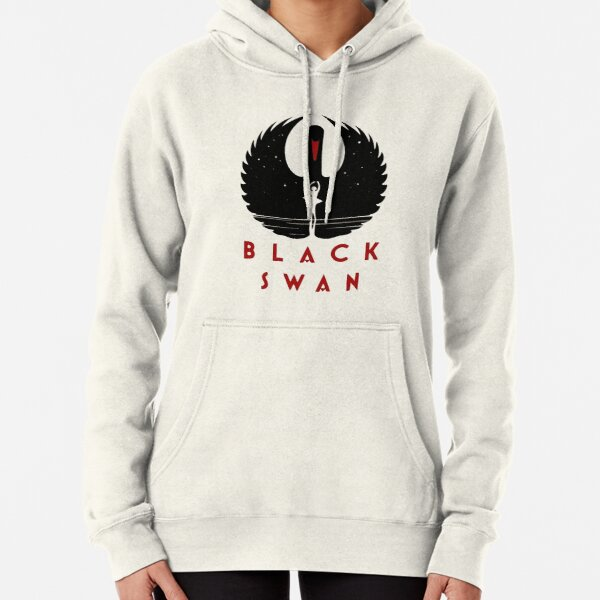 Black Swan Movie Artwork with Natalie Portman Pullover Hoodie