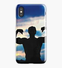 Muscle at Sunset iPhone Case/Skin