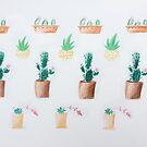 Cactus Garden by Jocelyne West