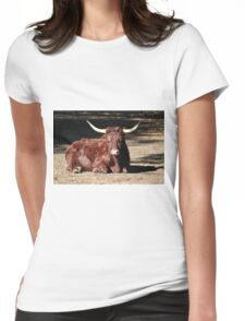 Bull Relaxing Womens Fitted T-Shirt