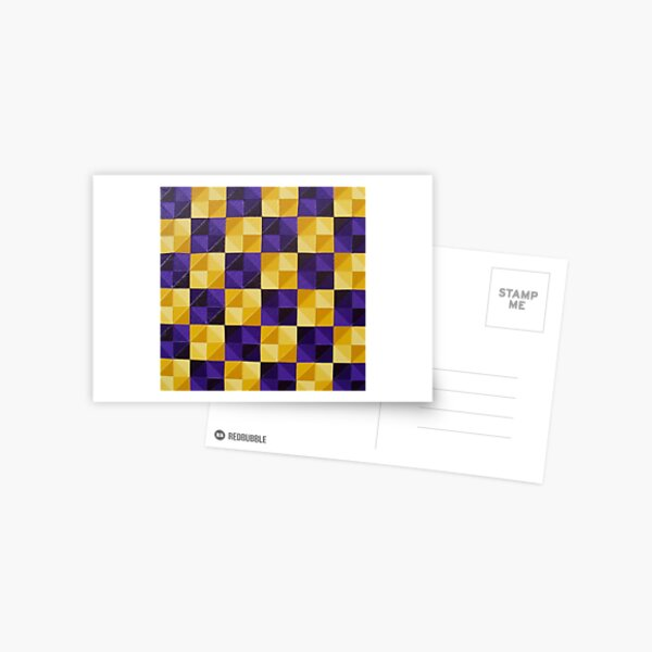 Indian Yellow Dioxazine Purple  Postcard