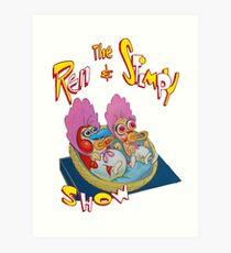 Ren & Stimpy Art Print