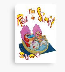 Ren & Stimpy Canvas Print