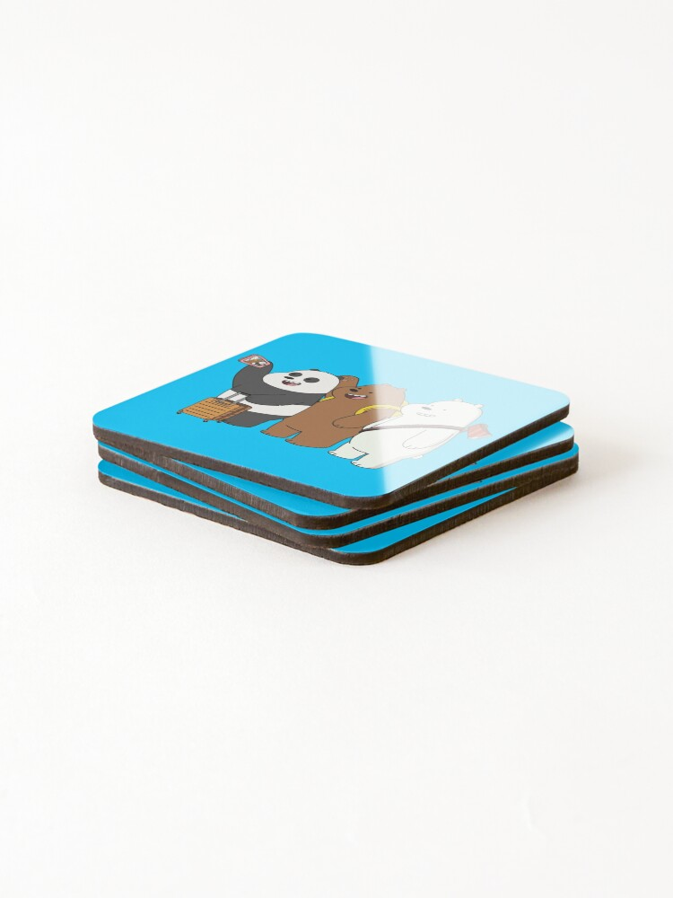Alternate view of We Bare Bears Coasters (Set of 4)