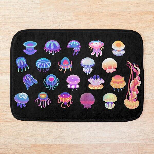 Jellyfish Day Bath Mat