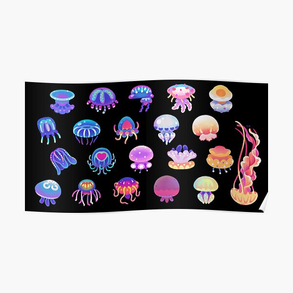 Jellyfish Day Poster