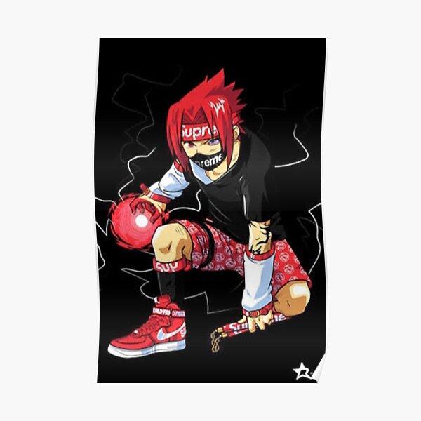 Anime Supreme Hypebeast Poster