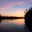 River Maigue Sunset by Mark Lyons