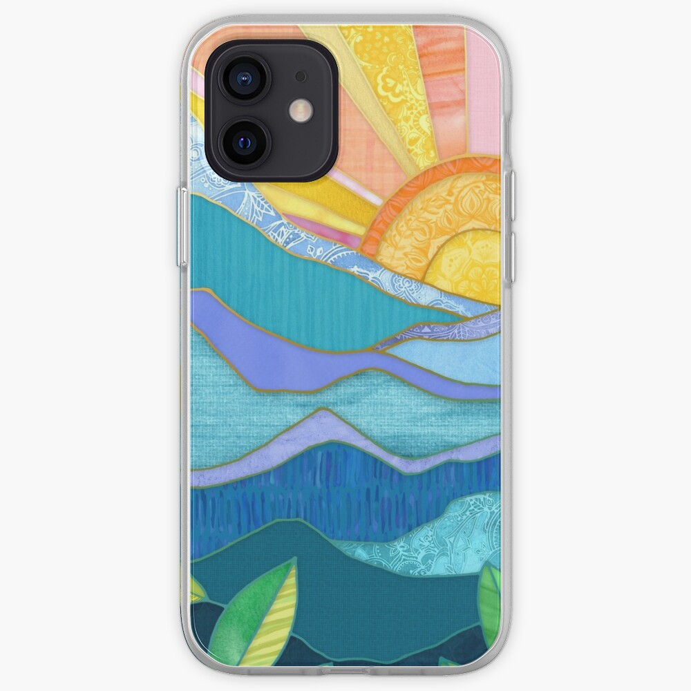 Sunset Through The Leaves iPhone Case & Cover
