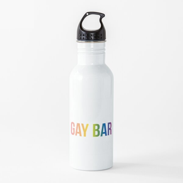 IT'S A GAY BAR Water Bottle